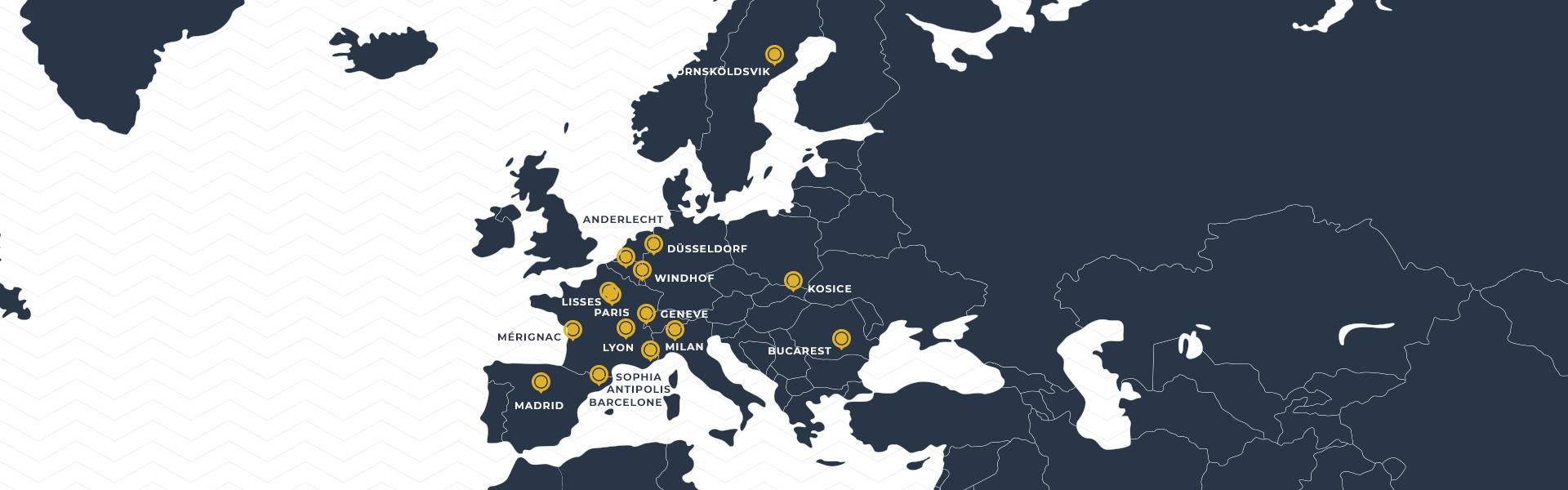 Carte europe epsa